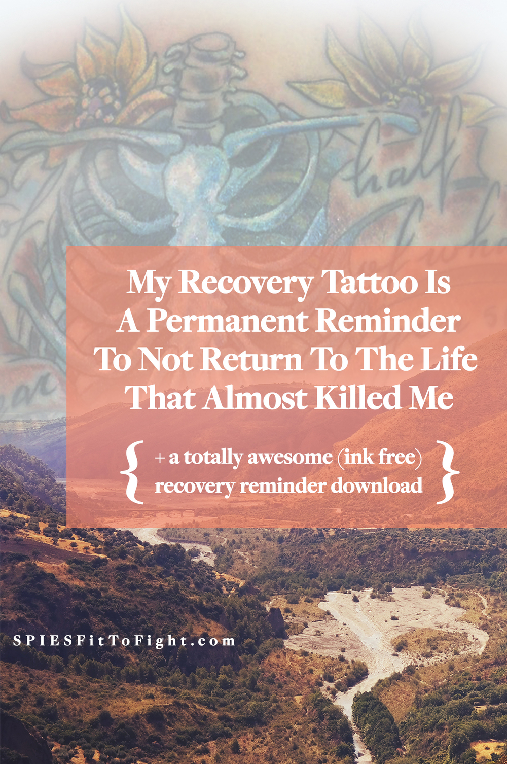 Are you in recovery from a mental illness? Check out the reasons behind this eating disorder recovery tattoo!