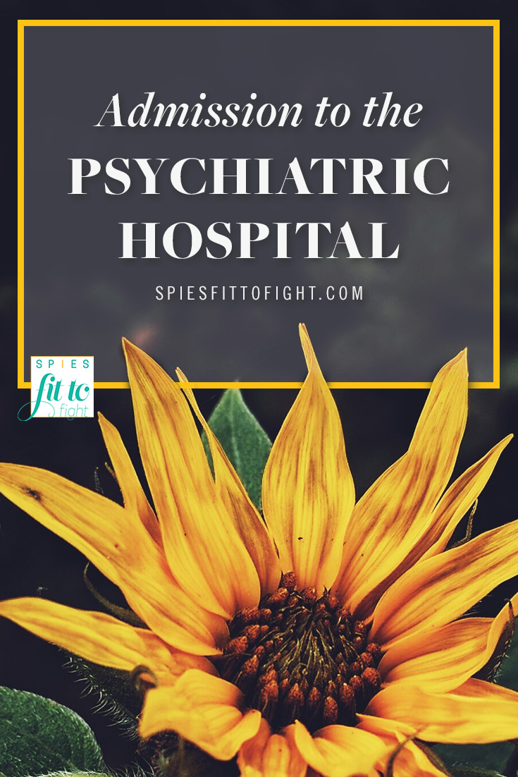 While most of my friends were going on college visits, I was walking through oversized rusty doors of what I anticipated to be my prison. Click through to read more about my admission to the psychiatric hospital »