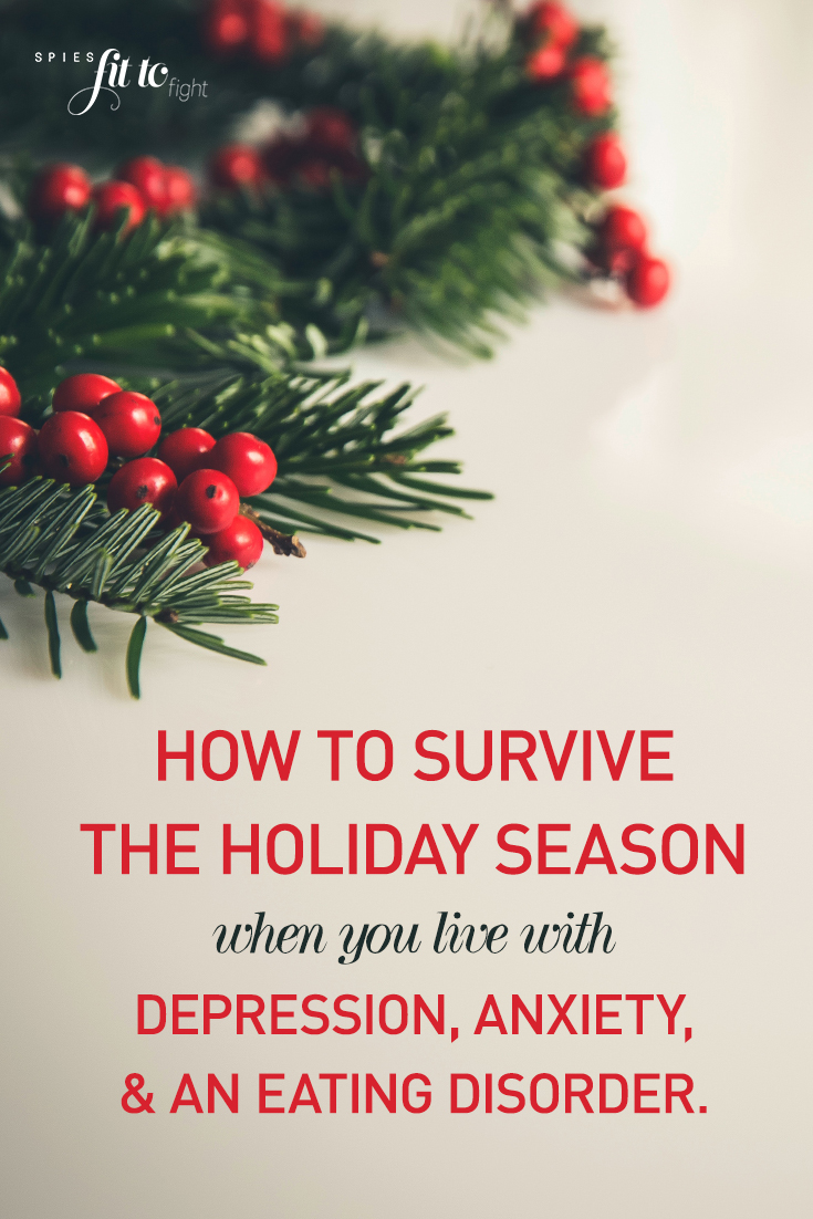 How to survive the holiday season when you struggle with depression, anxiety, and eating disorders? Don't let your mental health status block you from enjoying quality time with your family. Spread your love and let your inner light shine through affirmations on being stronger than your mental illness.