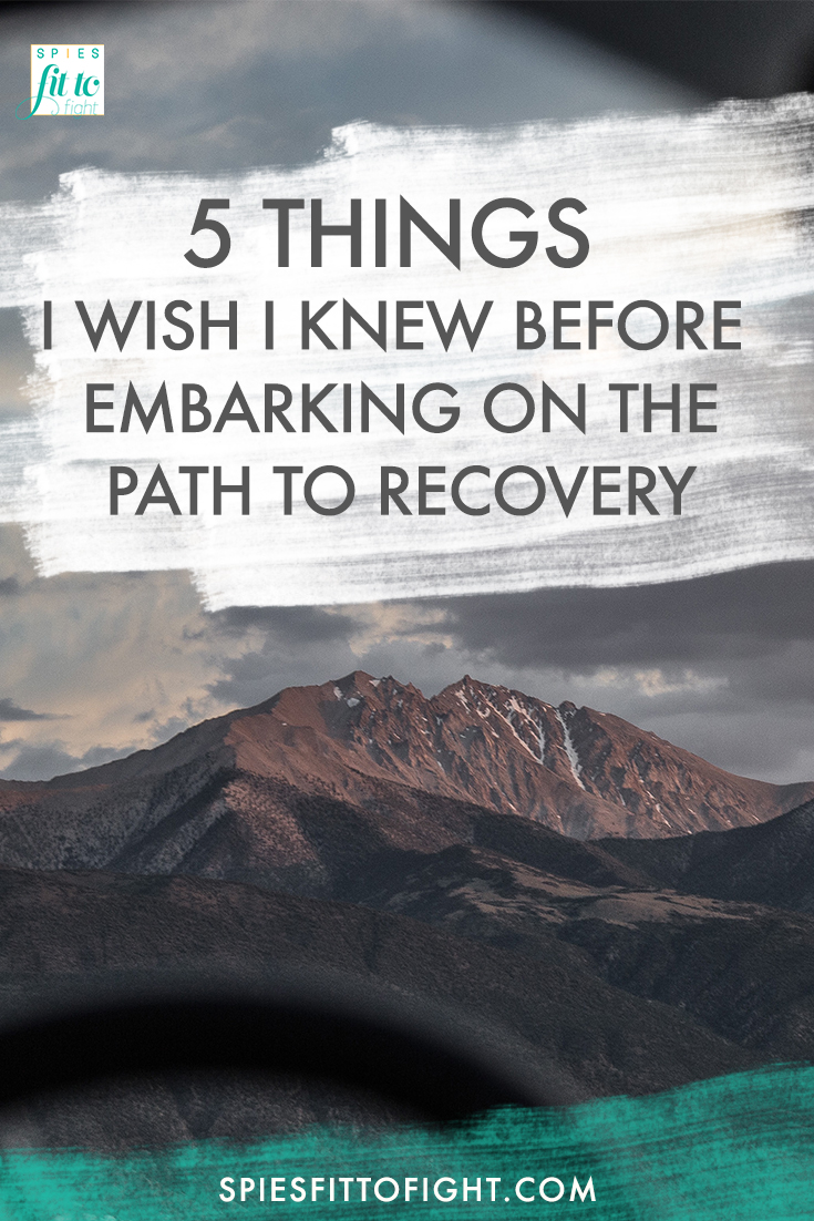 5 Things I Wish I Knew Before Embarking On The Path To Recovery For My Mental Illness.