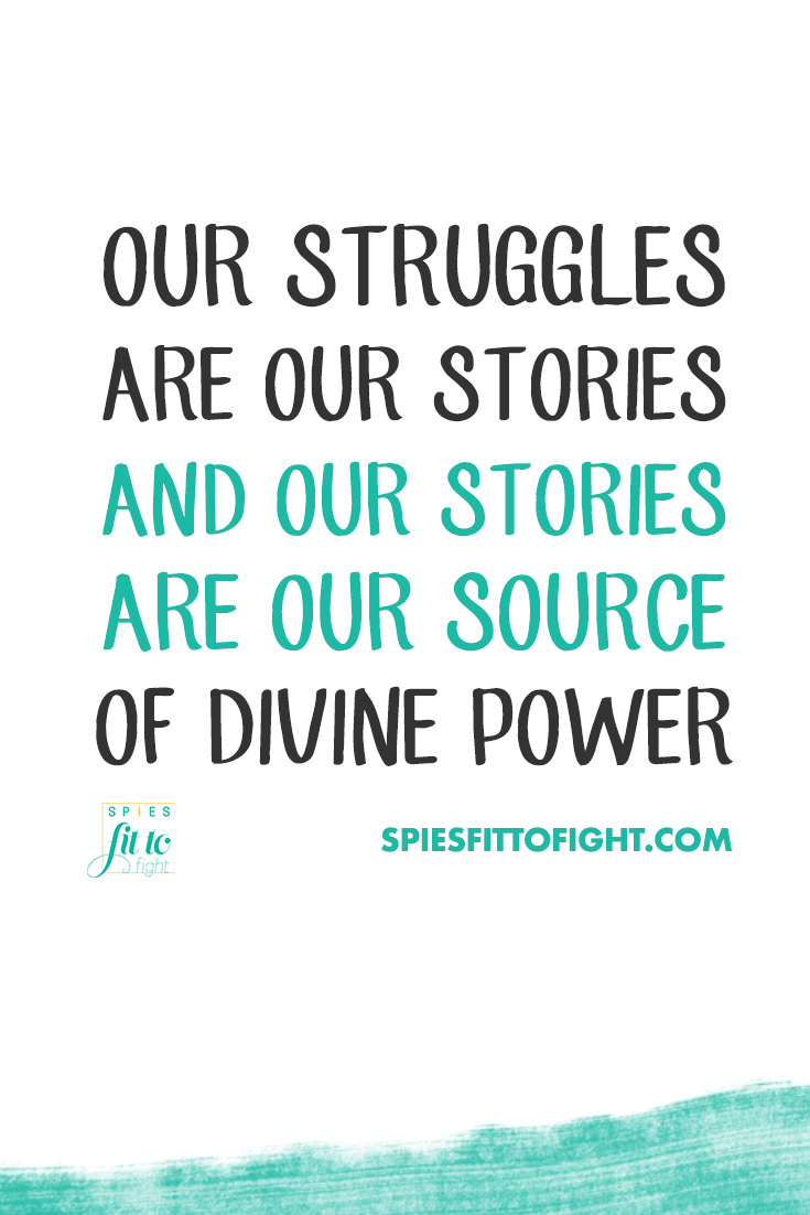 Our struggles are our stories and our stories are our source of power from the divine. What was once a weakness is now our fuel, igniting our life's purpose. #selfhelp #lifecoaching #positivity