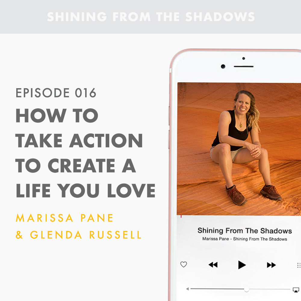 How To Take Action To Create A Life You Love  On today's episode, Glenda Russell discusses how the life you want is waiting for you to create it. It takes more than desire to create a life you love, it requires ACTION. Glenda shares how this process will not be easy and how the ride won't always be perfect, but once you've created a life you love, you will without a doubt know your hard imperfect work was worth it.  Glenda was laid off of her job not once, but twice and she lost both of her parents within the span of a few years. But if that wasn't enough, her husband then lost his job! Nevertheless, Glenda wouldn't let her circumstances hold her in hostage in pain, grief, depression, and living a less than ideal life. Instead, Glenda chose to be happy and shares how she overcame these hardships with us in episode 016.   Tune in to learn about the power of positivity and how ACTION can lead you to living a life you love.
