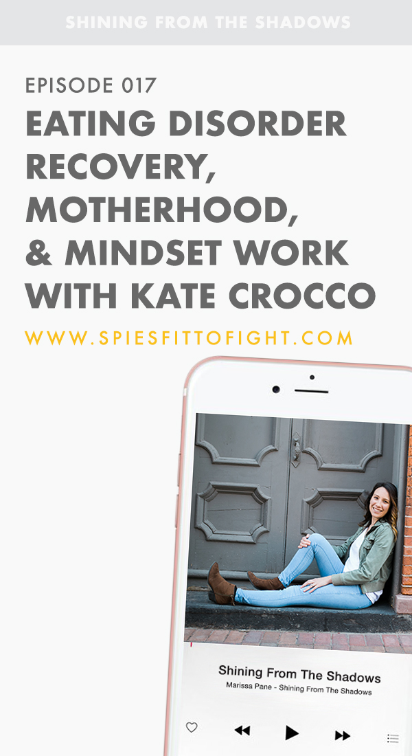 Eating Disorder Recovery, Motherhood, and Mindset Work with Kate Crocco.