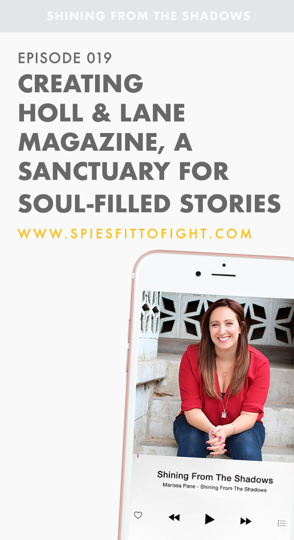 On today's episode, I talk with Sarah Hartley the creator and editor in chief of Holl & Lane Magazine about how she created this Sanctuary For Soul-Filled Stories. Sarah brought this idea to life four years ago while taking care of her newborn and wanting to share the reality of the 'not-so-cute' parts of pregnancy.  From there this magazine developed into sharing stories on miscarriage and infertility, mental health and body image, love and loss and so much more. Holl & Lane is opening the door on conversation and shutting the door on shame, which I am SO about!