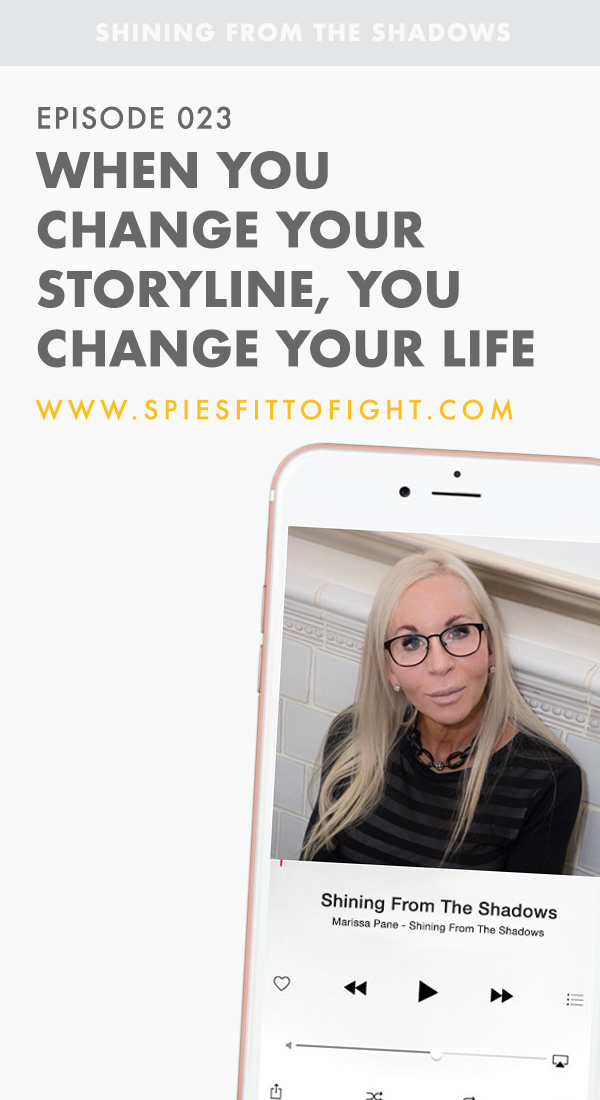 When you change your storyline, you change your life. Jamie Lerner, a wellbeing therapist and co-author of the book The Ever-Loving Essence of You joined Marissa Pane on Shining From The Shadows for Episode 023.    In this episode we speak about looking into your past, acceptance, forgiveness, and changing the story in which you are living your life by.