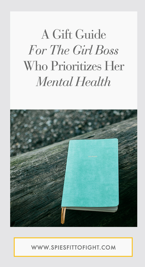 To help inspire your Christmas lists and shopping trips, I've compiled a few of my favorite things. These are great gifts for the girl boss with anxiety or for anyone who likes to prioritize their mental health.