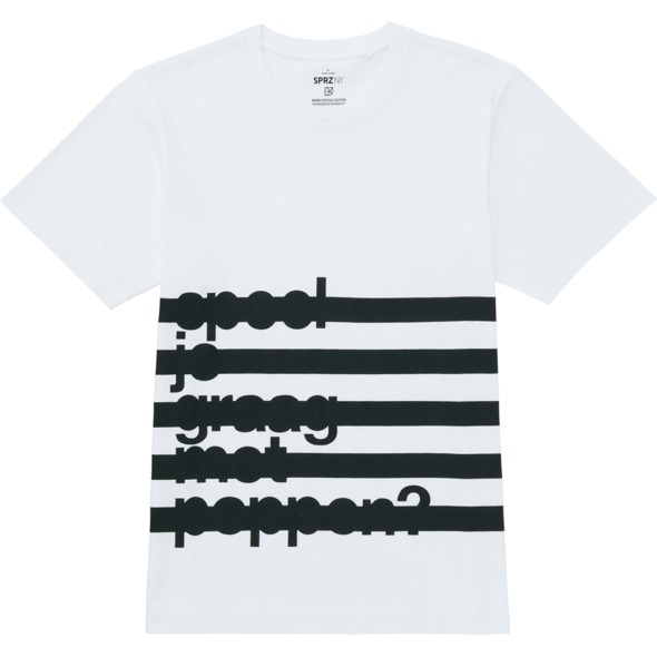 T-shirt inspired by Dutch masters of minimalism, Experimental Jetset