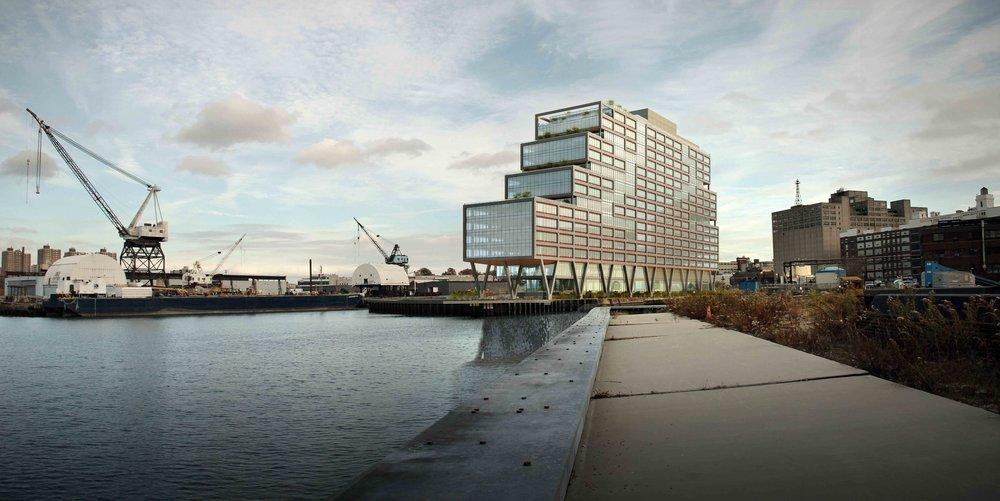 Dock 72 at the Brooklyn Navy Yard
