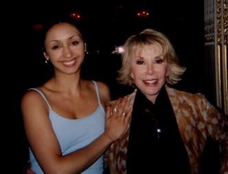 working with Joan Rivers