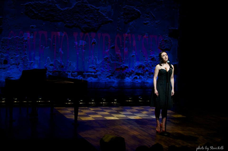 performing at the Studio Theatre Gala