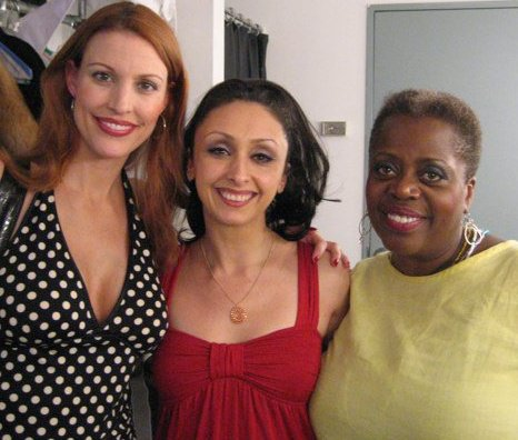 Performing in THE BEST IS YET TO COME with Rachel York and Lillias White
