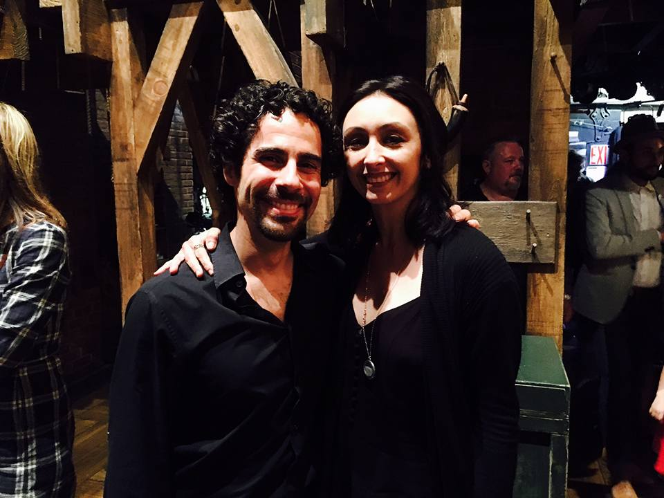 With Alex Lacamoire after HAMILTON