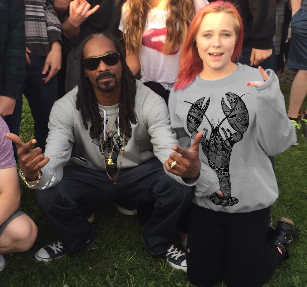 Snoop Lion & Lobstah Girl