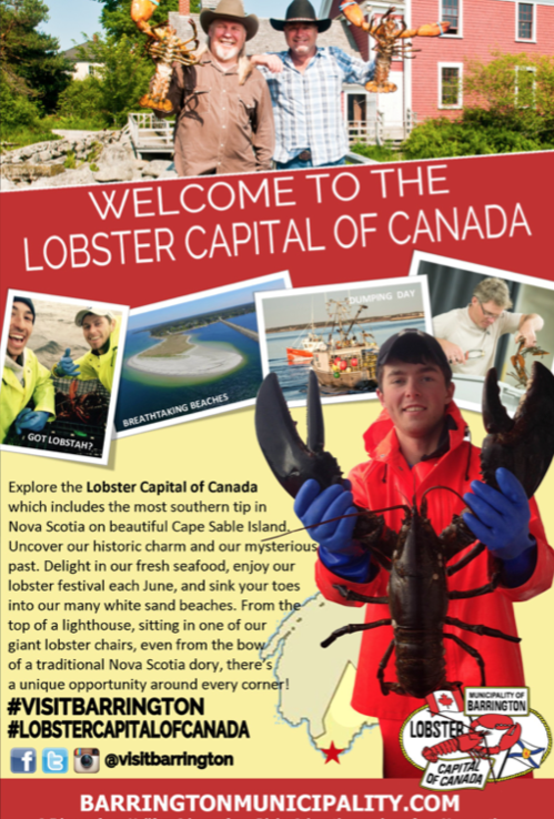 Click to link and learn more about THE LOBSTER CAPITAL OF CANADA!