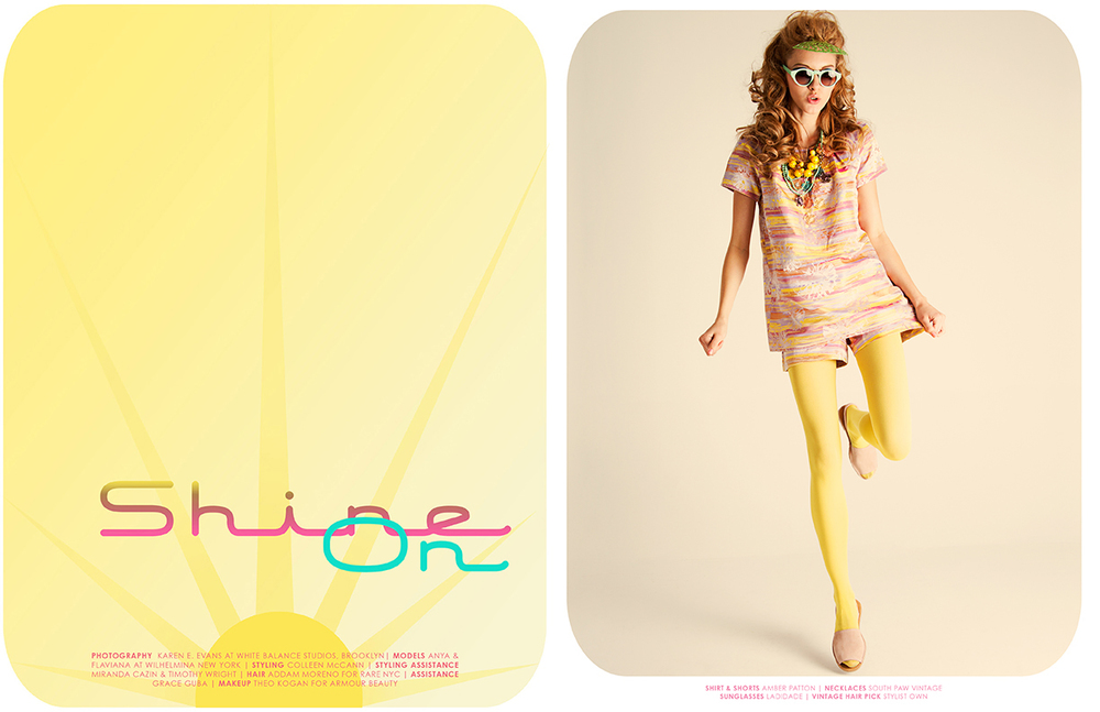 Shine On, Framed Magazine