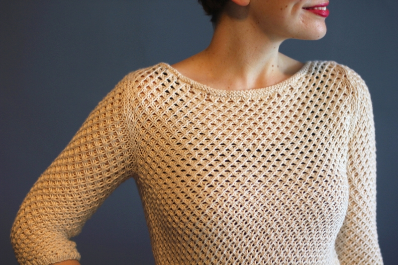 Annapolis knitting pattern by Kristen Jancuk from Holla Knits Summer 2015