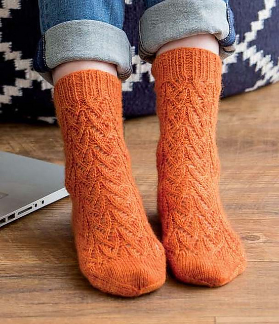 Review of Custom Socks by Kate Atherley, on MediaPeruana Designs