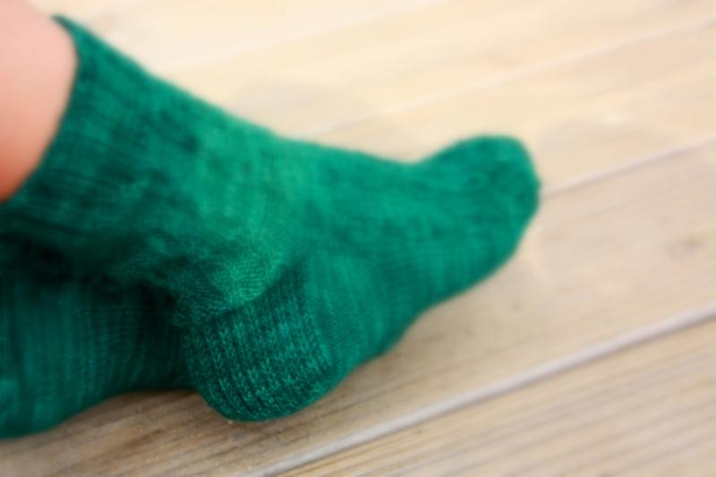 Pisac sock pattern by Kristen Jancuk, MediaPeruana Designs