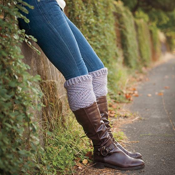Frosting boot topper knitting pattern by Kristen Jancuk, MediaPeruana Designs