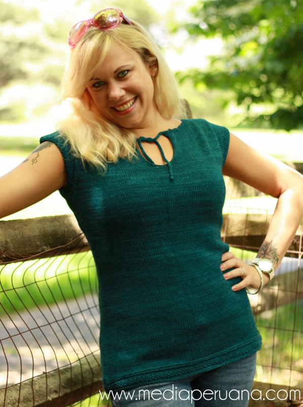 Pradera knitting pattern by Kristen Jancuk, MediaPeruana Designs