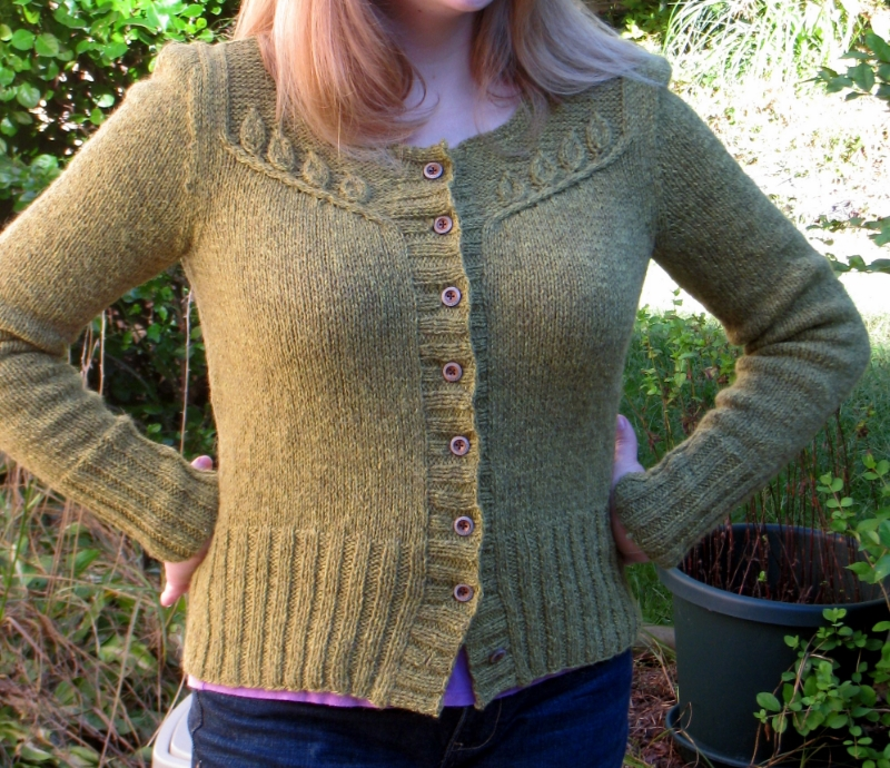 The wool/alpaca blend in Quince and Co.'s Owl yarn needs gentle care, but the warmth makes it worth it!