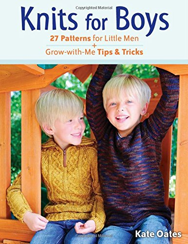 Review of Kate Oates' Knits for Boys
