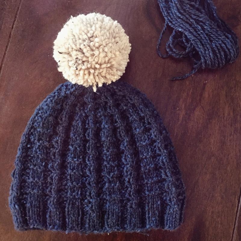 Nevado hat pattern by Kristen Jancuk
