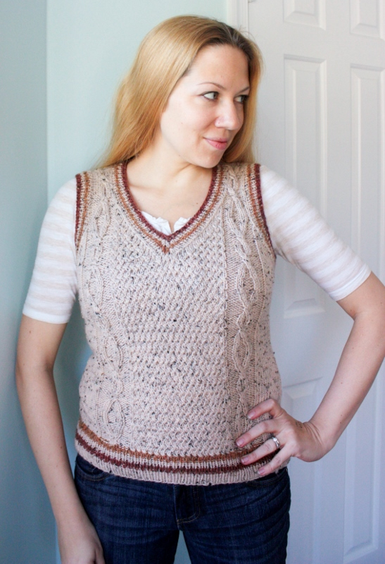Vaughan Vest Knitting Pattern