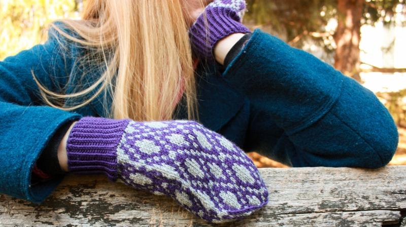 Plum Pudding Knitting Pattern