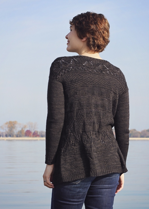 Sweater of Broad Shoulders by Allyson Dykhuizen, Midwestern Knits