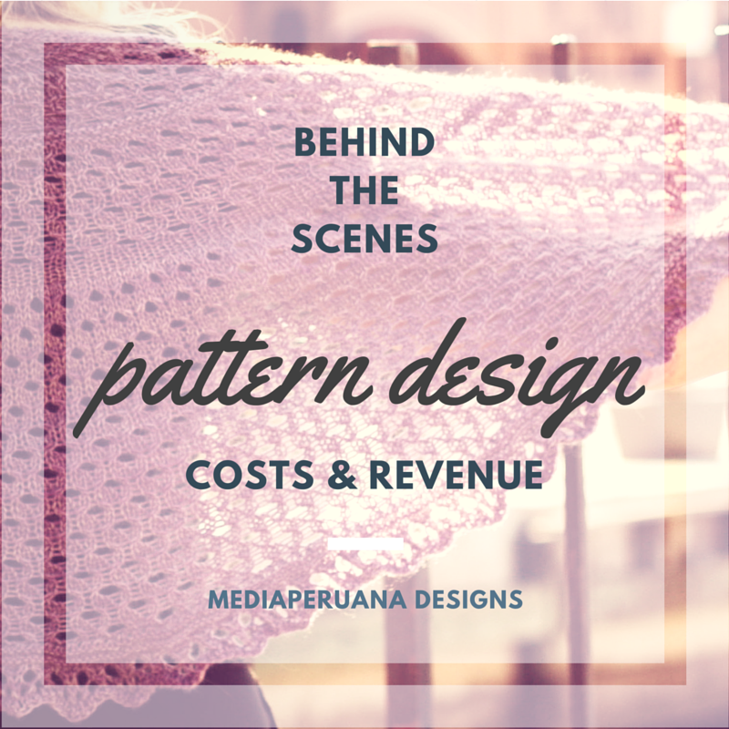 Costs and revenue in knitting pattern design