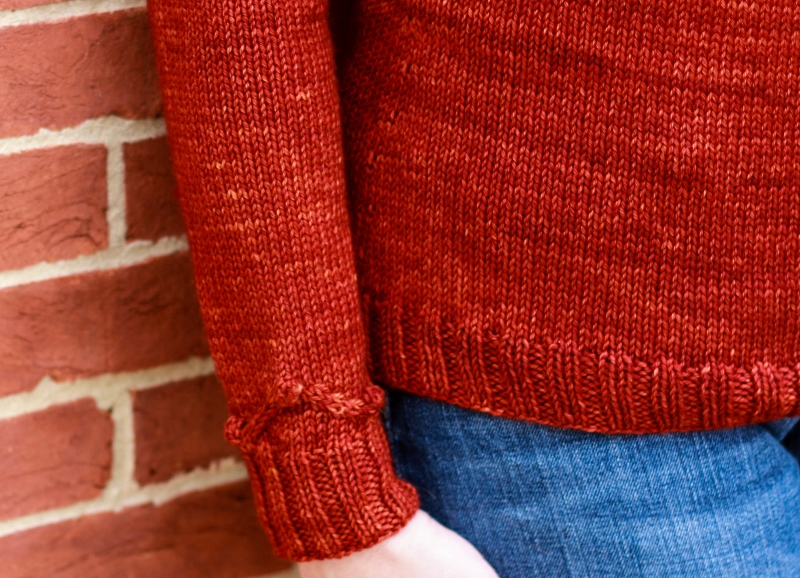 Thirty-fourth Street knitting pattern by Kristen Jancuk, part of the Charm City Knits collection