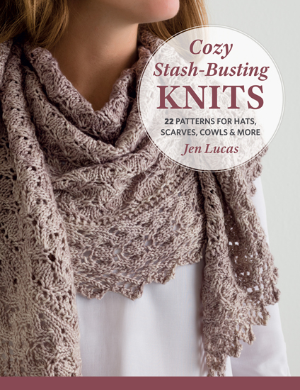 Cozy Stash-Busting Knits--knitting pattern book review