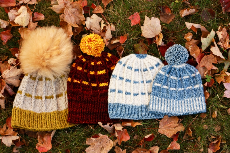 Rayado hat knitting pattern by Kristen Jancuk MediaPeruana Designs