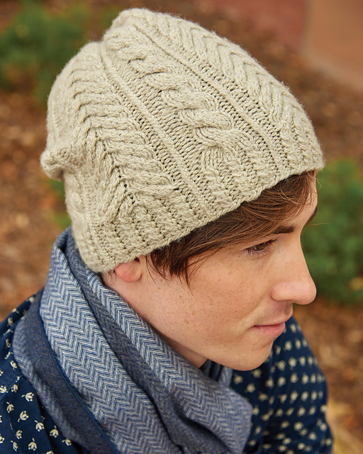 Timber Cabled Toque by Meghan Babin
