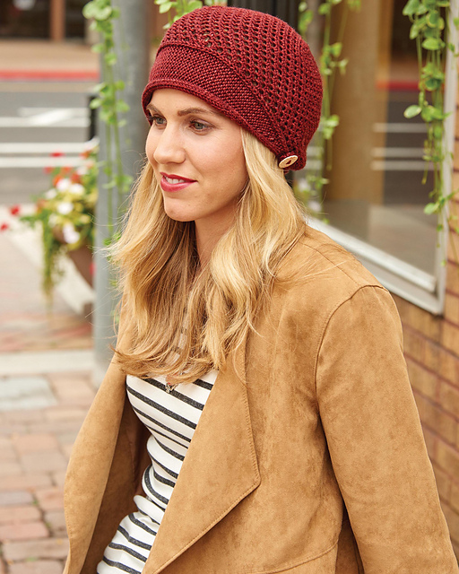 Scoop Brimmed Cap by Melissa LaBarre