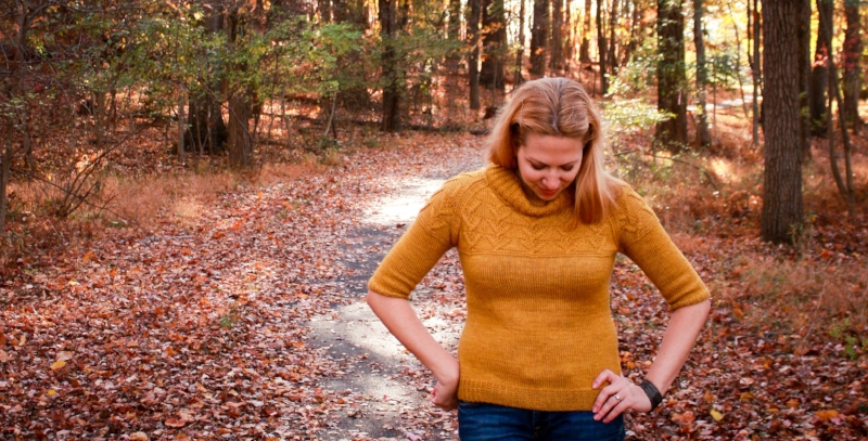 Cunningham Falls sweater knitting pattern