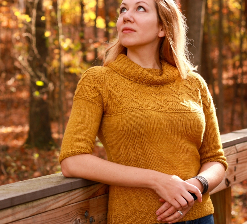 Cunningham Falls, one of my most popular self-published patterns in 2016