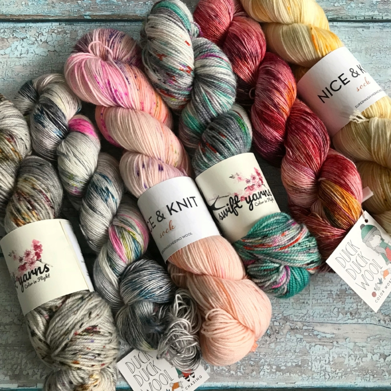 The Knot House pop-up shop is a don't miss event, with yarns you won't find at MDSW!