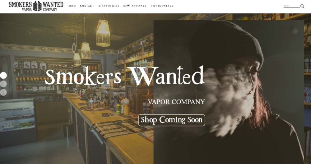 Smokers Wanted - Vapor Company