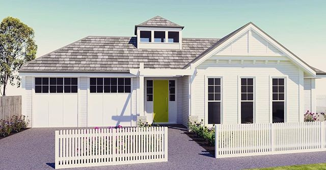 Fabulous new Hamptons inspired house about to start construction in Rippleside. Will be an absolute cracker..#hamptons #geelong #design #designer #goteam