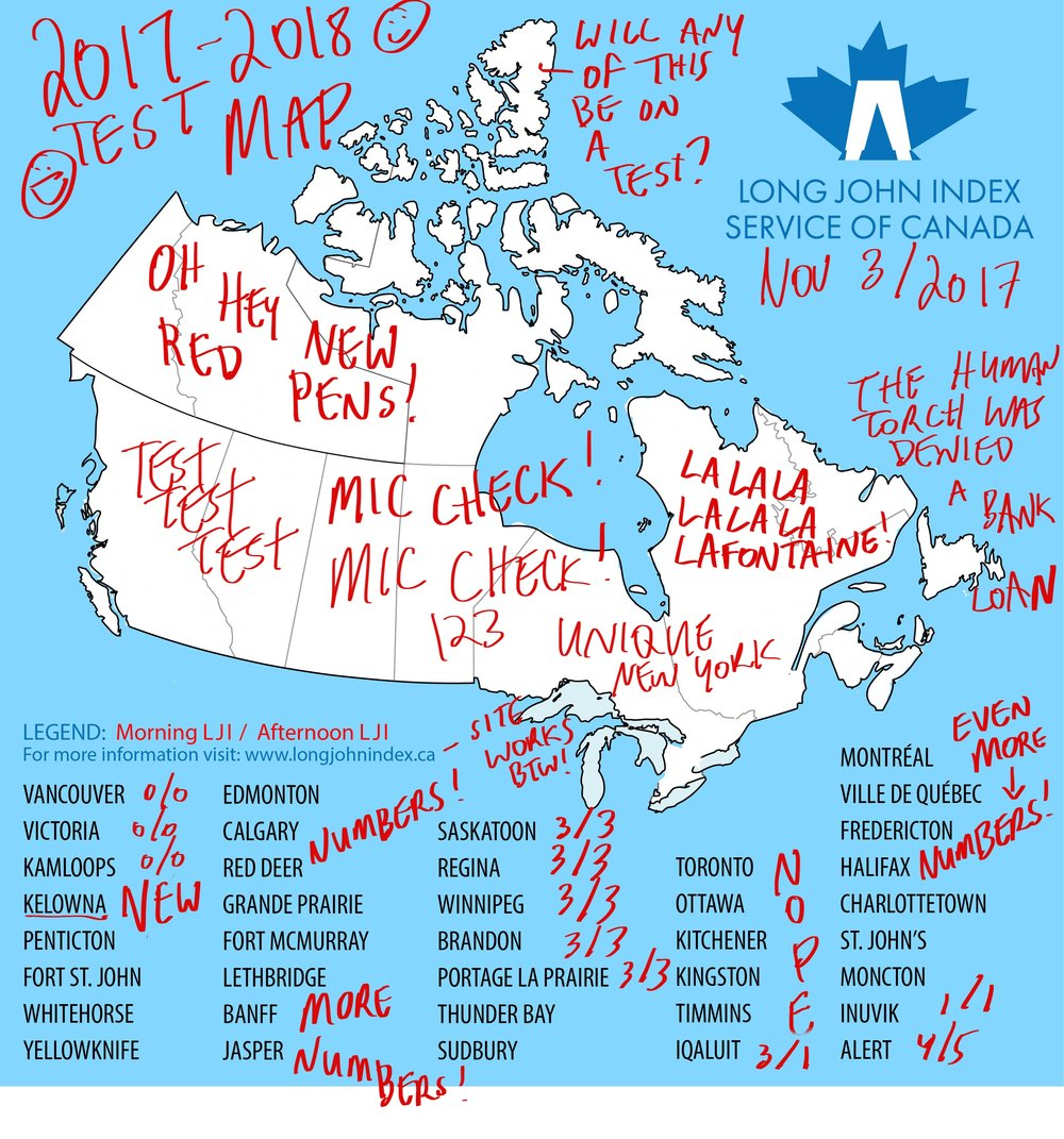 Long John Index Test Map - 2017 / 2018 Winter Season — The Long John ...