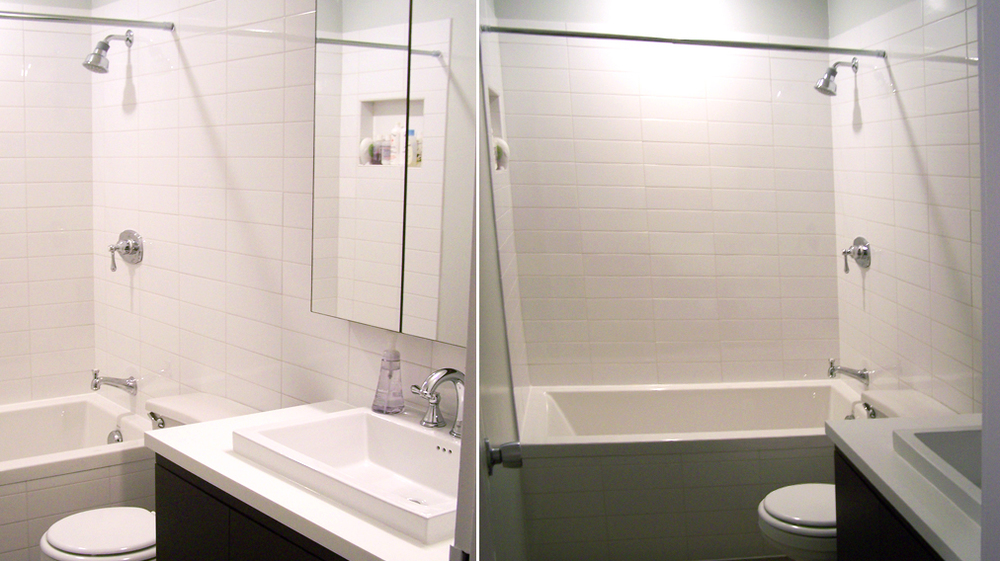 Silvestri millwork and painting for Bathroom remodel 30068