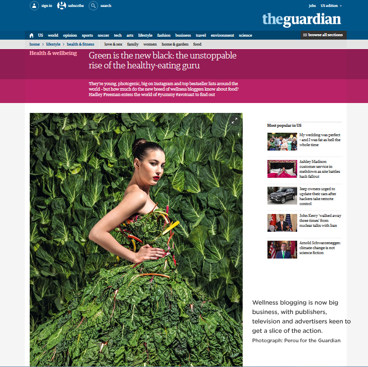 Photograph: Perou for the Guardian