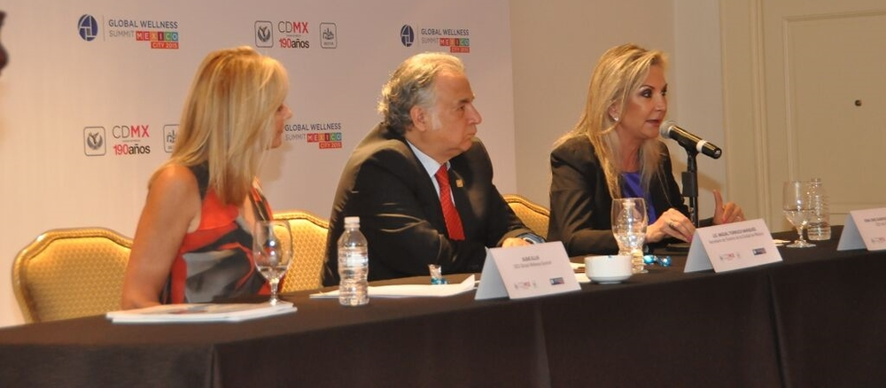 Global Wellness Summit Press Conference in Mexico City