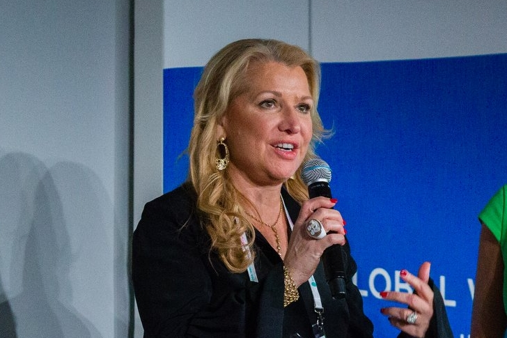 """I think every one of us in this room have a responsibility to create impact and certainly inspire healthy habits for real life, for people, for families, for communities, and for the world. I think together we can do that.""    Mindy Grossman,   President & CEO, Weight Watchers International, Inc., U.S."
