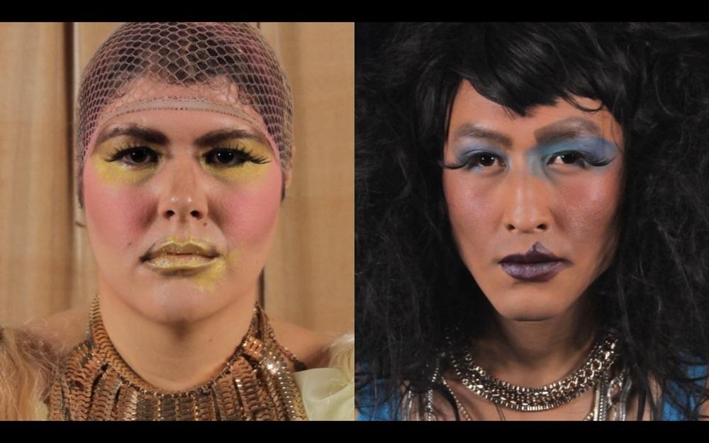 Death Masks ,2014  video still, 15 minutes, HD video