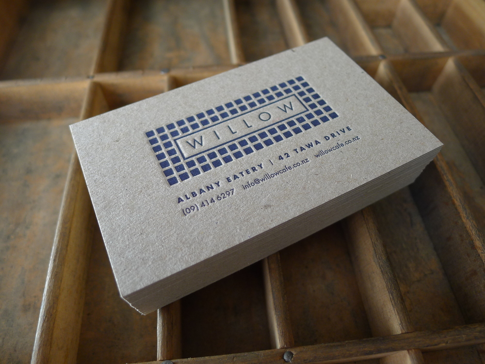 Letterpress wedding willow cafe reheart Image collections