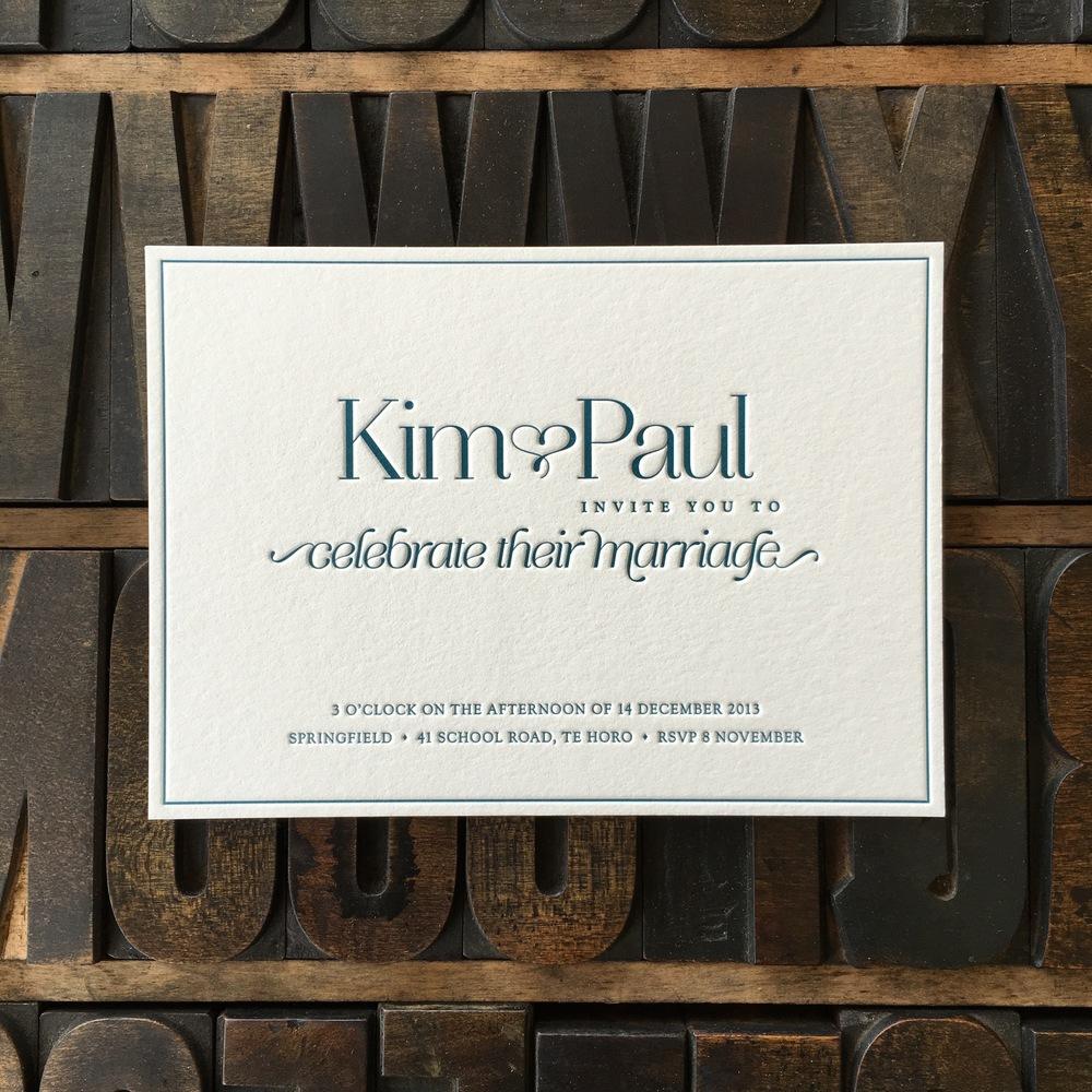 Kim & Paul