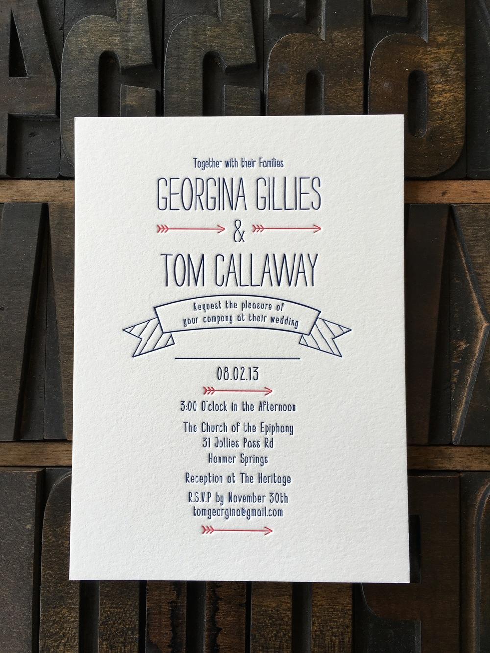 Georgina & Tom